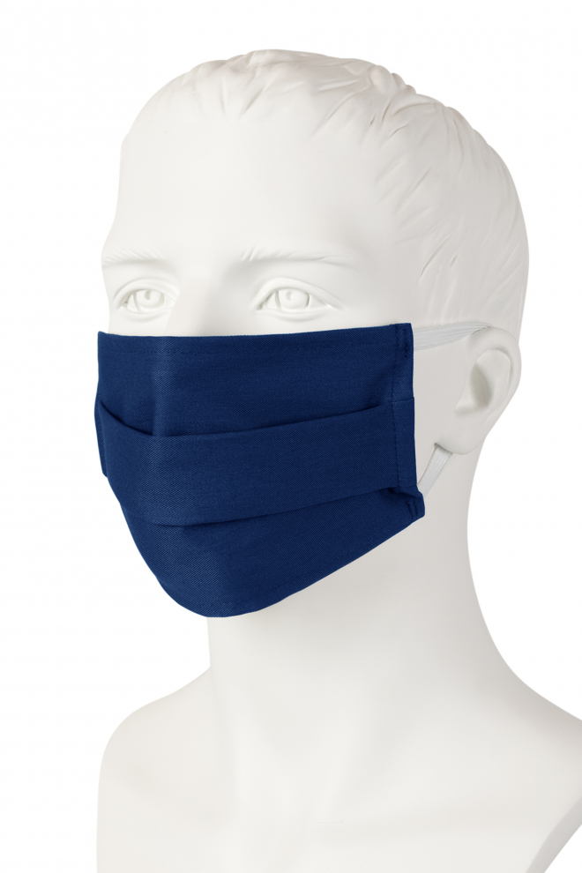 Wiederverwendbare Mund-Nasen-Maske - marine