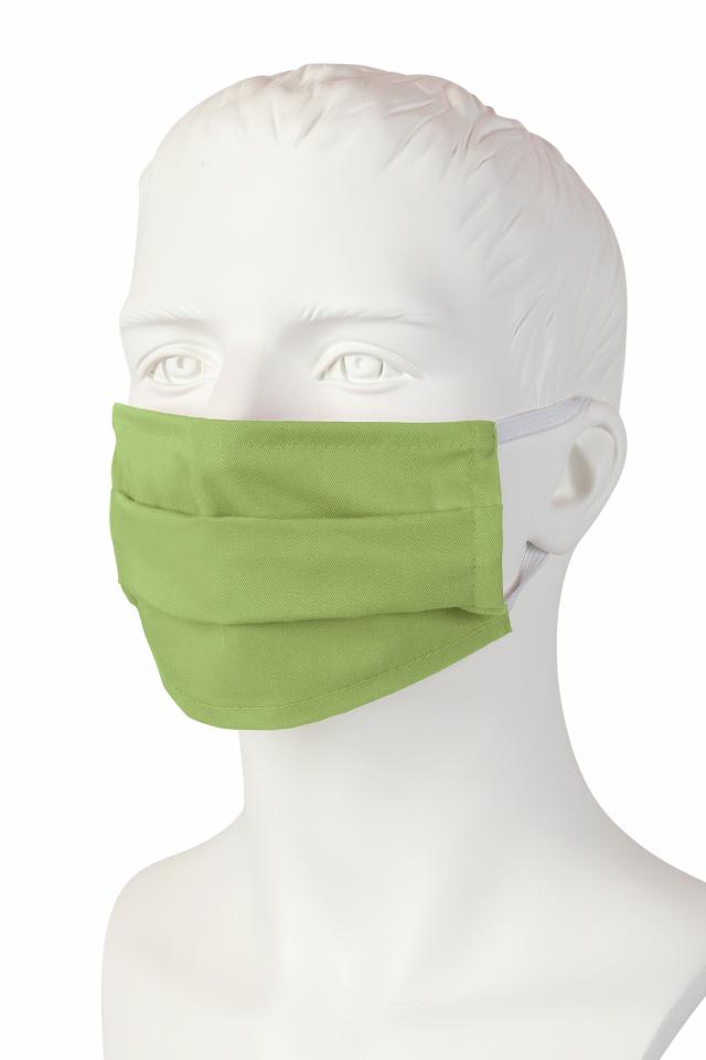 Wiederverwendbare Mund-Nasen-Maske - leaf