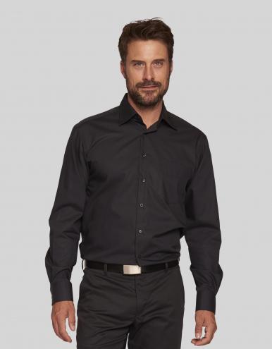 Navelli Man Hemd - schwarz