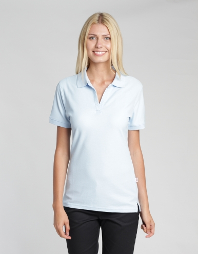Women Poloshirt Susa - light blue