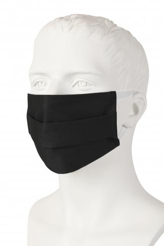 Wiederverwendbare Mund-Nasen-Maske - schwarz