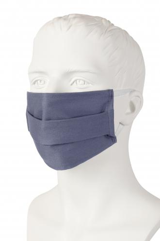 Wiederverwendbare Mund-Nasen-Maske - pale grey