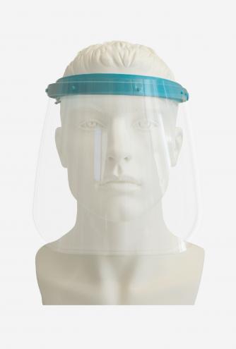 Wiederverwendbares Gesichtsvisier - hellblau