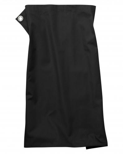 Pizzone Classic - Schürze - 80 x 71cm - schwarz
