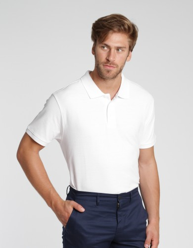 Men Poloshirt Iseo - white