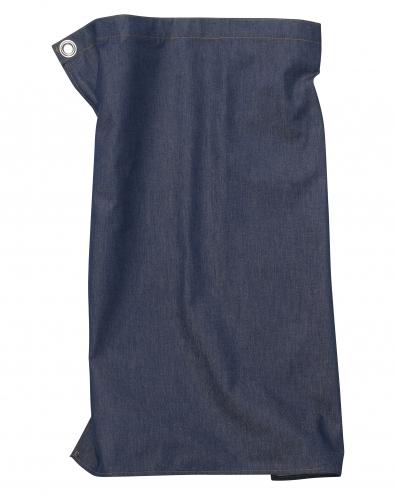 Pizzone Jeans - Schürze - 80 x 71cm - denim