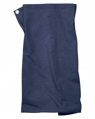 Pizzone Melange - Schürze - 80 x 71cm - blau-melange