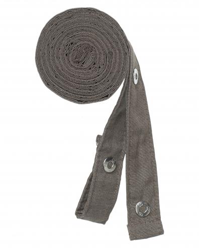 Pizzone Melange - Bänderset - dunkelgrau-melange
