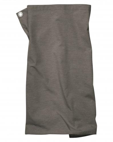 Pizzone Melange - Schürze - 80 x 71cm - braun-melange