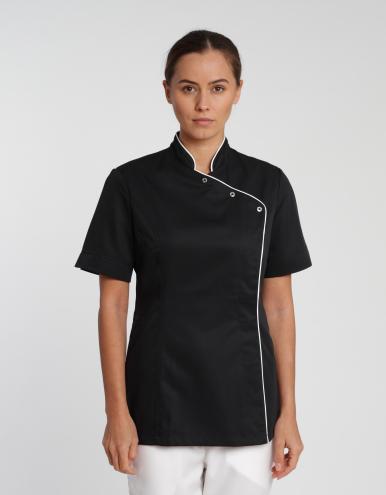 Damen Jacke Foggia Care - schwarz-weiß