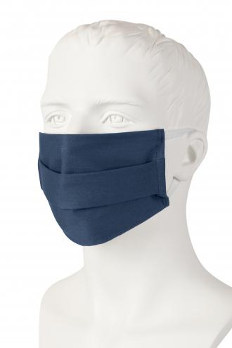 Wiederverwendbare Mund-Nasen-Maske - dunkelblau