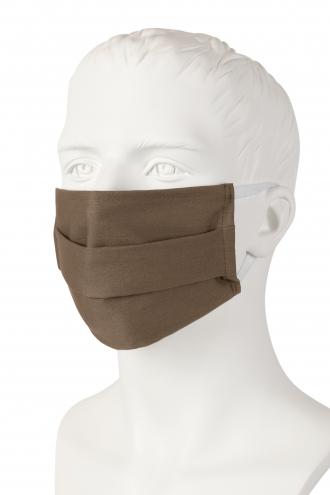 Wiederverwendbare Mund-Nasen-Maske - taupe