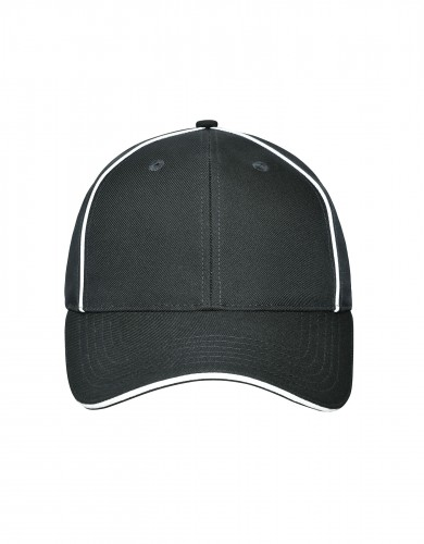 6 Panel Workwear Cap - SOLID - carbon