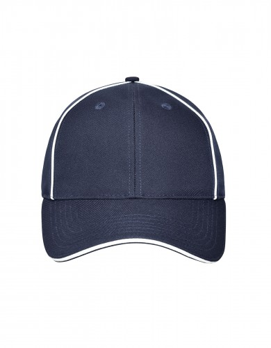 6 Panel Workwear Cap - SOLID - navy