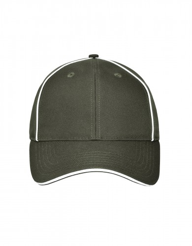 6 Panel Workwear Cap - SOLID - olive