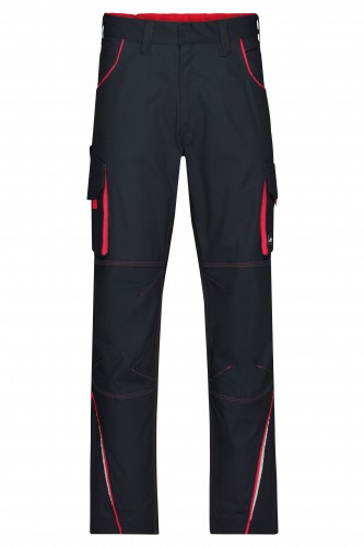 Workwear Pants - COLOR - carbon/red