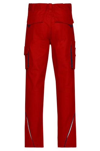Workwear Pants - COLOR - red/navy