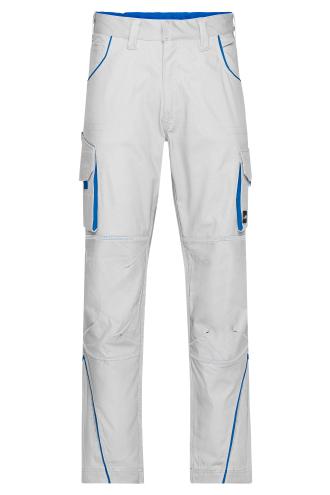 Workwear Pants - COLOR - white/royal