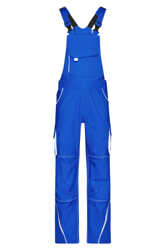 Workwear Pants with Bib - COLOR - royal/white