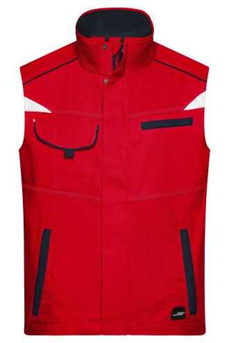 Workwear Vest - COLOR - red/navy