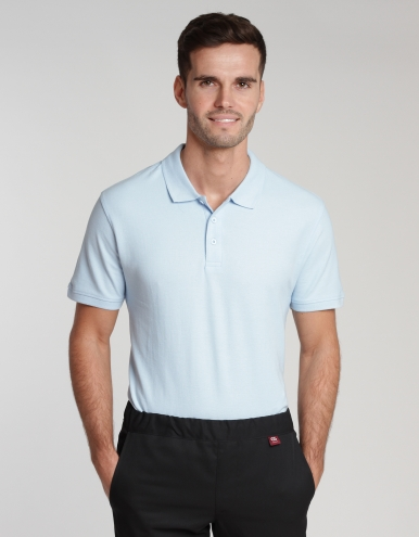 Men Poloshirt Iseo - light blue