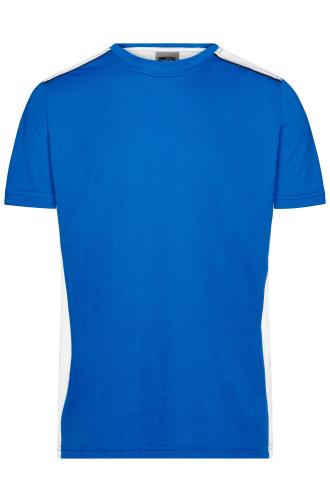 Mens Workwear T-Shirt - COLOR - royal/white