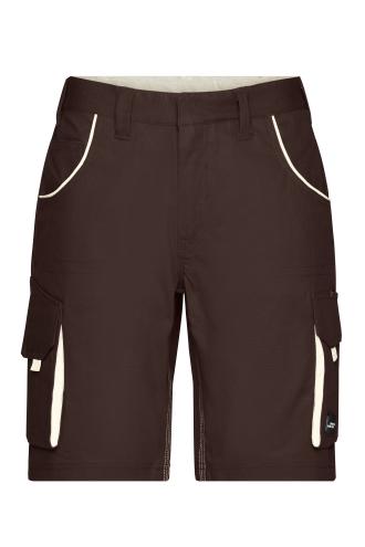 Workwear Bermudas - COLOR - brown/stone