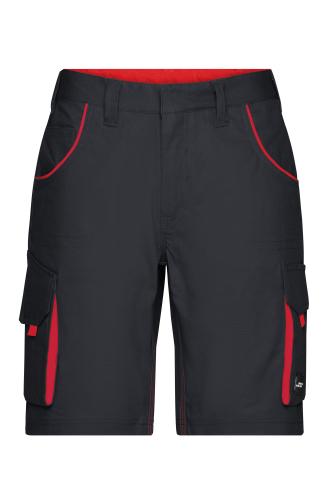Workwear Bermudas - COLOR - carbon/red
