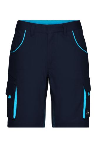Workwear Bermudas - COLOR - navy/turquoise