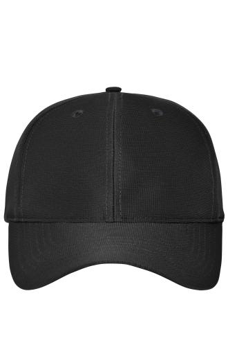 6 Panel Workwear Cap - COLOR - black