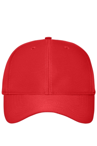 6 Panel Workwear Cap - COLOR - red