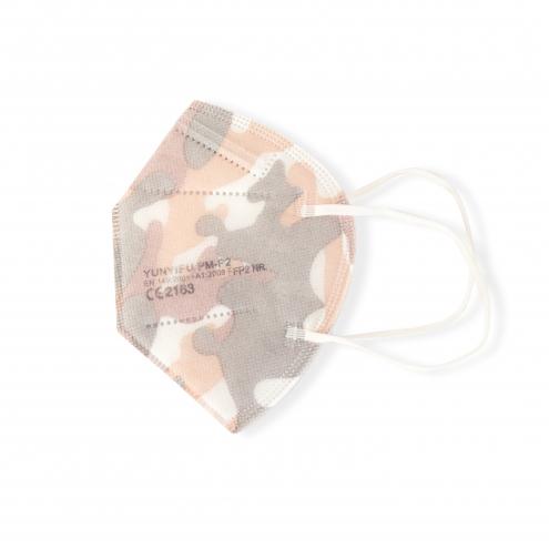 FFP2 Mundschutz - Feinstaubmaske - Camouflage - CE Zertifiziert