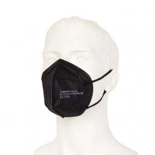 FFP2 Mundschutz - Feinstaubmaske - Schwarz - CE Zertifiziert