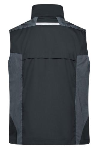 Workwear Vest - STRONG - black/carbon