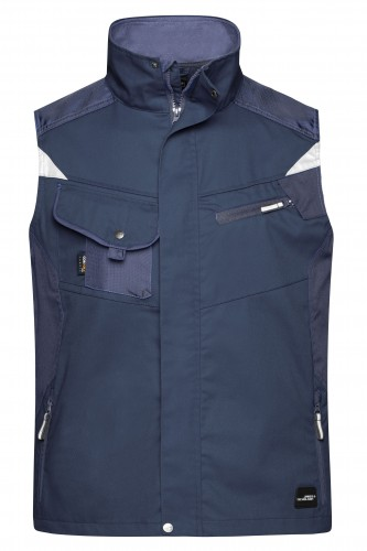 Workwear Vest - STRONG - navy/navy