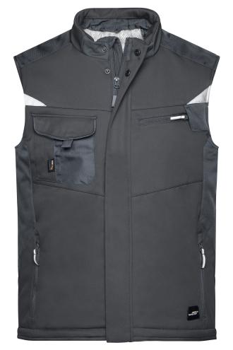 Craftsmen Softshell Vest - STRONG - black/black