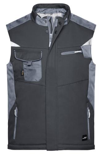 Craftsmen Softshell Vest - STRONG - black/carbon