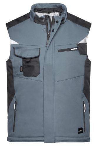 Craftsmen Softshell Vest - STRONG - carbon/black