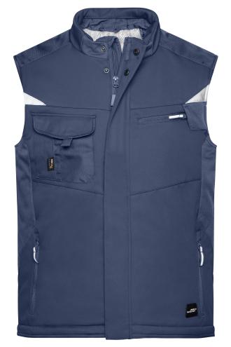 Craftsmen Softshell Vest - STRONG - navy/navy