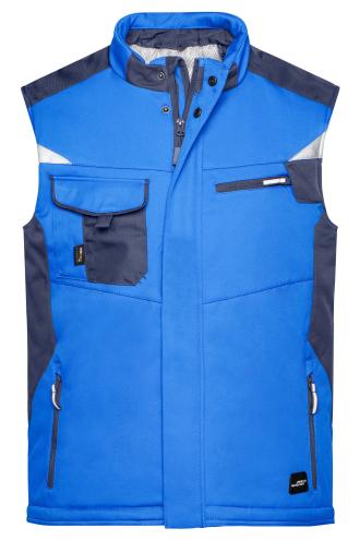 Craftsmen Softshell Vest - STRONG - royal/navy