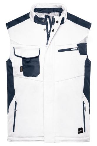 Craftsmen Softshell Vest - STRONG - white/carbon