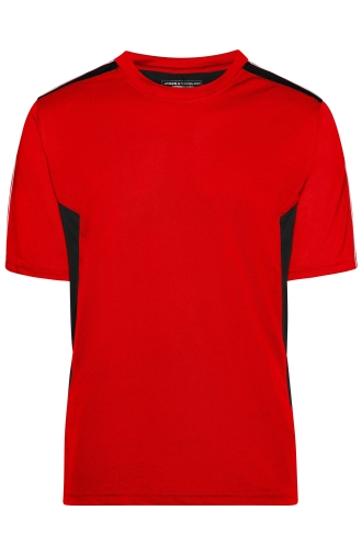 Craftsmen T-Shirt - STRONG - red/black