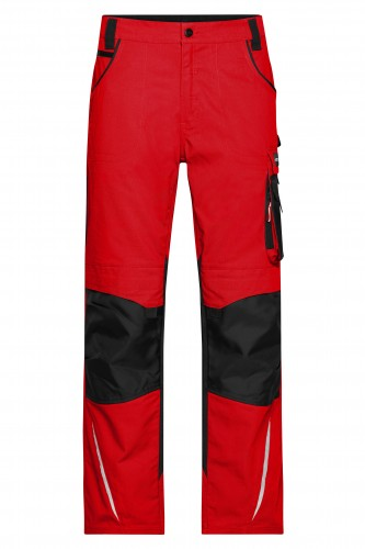 Workwear Pants - STRONG - red/black