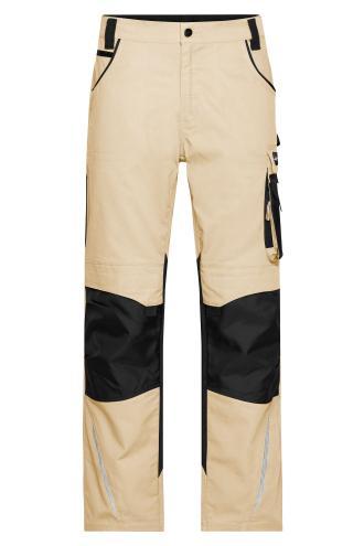 Workwear Pants - STRONG - stone/black