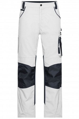 Workwear Pants - STRONG - white/carbon