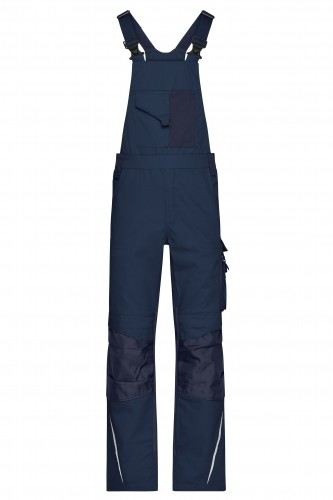 Workwear Pants with Bib - STRONG - navy/navy