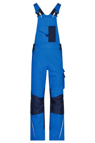 Workwear Pants with Bib - STRONG - royal/navy