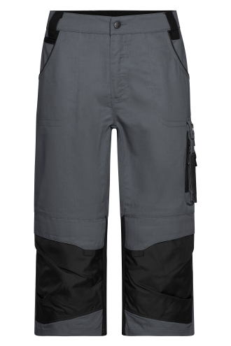 Workwear 3/4 Pants - STRONG - carbon/black