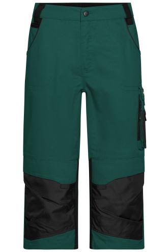 Workwear 3/4 Pants - STRONG - dark-green/black
