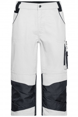 Workwear 3/4 Pants - STRONG - white/carbon